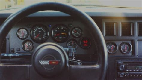 c4 corvette gauges image gallery 1984 corvette dash