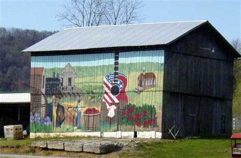 scheune gemalt anyone a painted barn