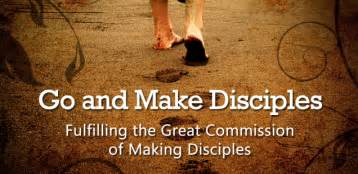 Image result for go and make disciples