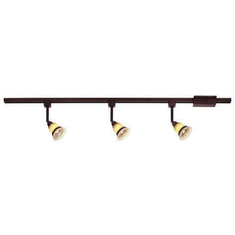 Hton Bay Track Lighting by Hton Bay 3 Light Antique Bronze Linear Track Lighting