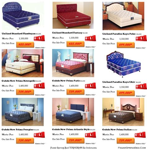 harga bed kasur termurah di indonesia toko