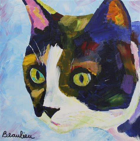 Cat Acrylic cat andre beaulieu studio