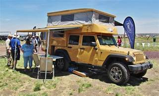 custom made rooftop awning for jeep cer offroad