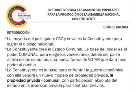 asi es el comunismo de chavez el eco de los pasos 161 comunismo puro el modelo de propiedad privada que quiere