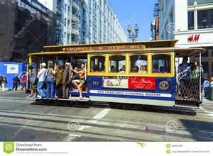 Used Car Usa San Francisco Cable Car In San Francisco Editorial Stock Image