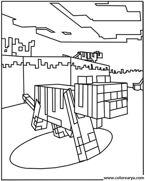 coloring pages minecraft cat free coloring pages of minecraft sty cat