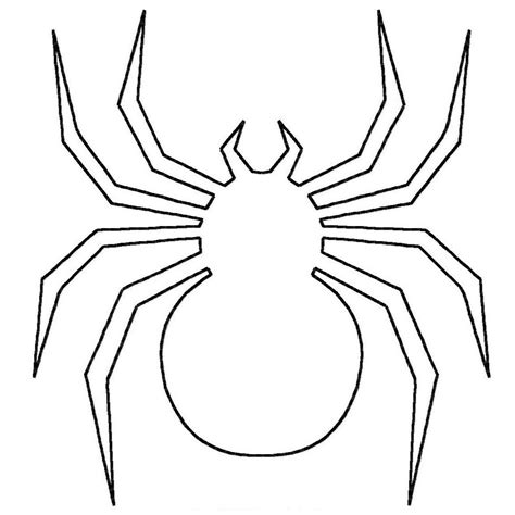Printable Spider Coloring Pages Coloring Me Spider Coloring Page