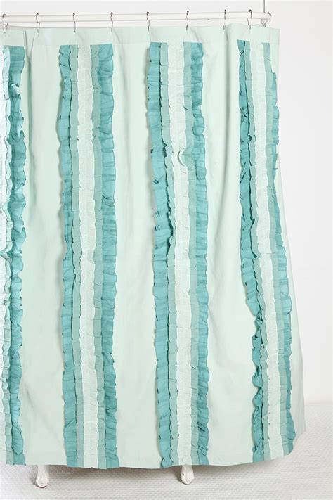 turquoise ruffle curtains 400 best images about color mint on pinterest mint