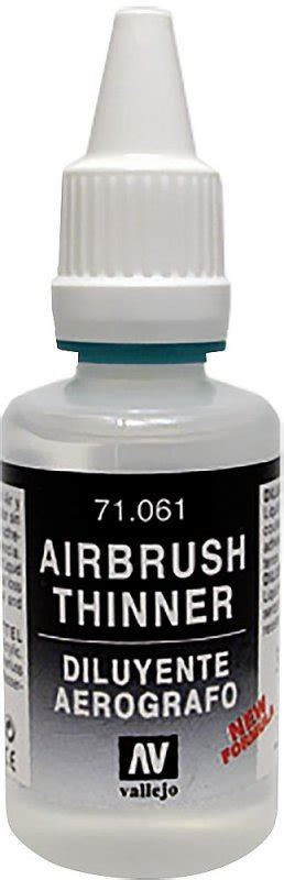 airbrush verd 252 nner thinner 32 ml 183 acrylicos vallejo