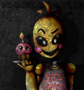 Toy chica five nights at freddy s 2 by red bronny on deviantart