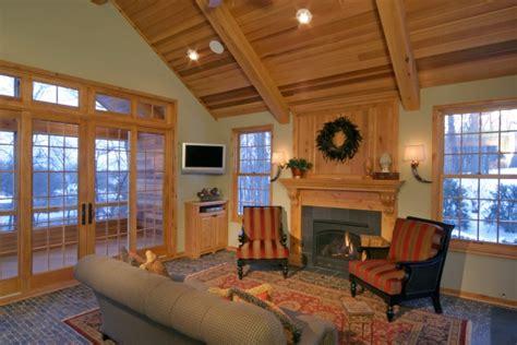 Four Season Porch Ideas 7 Sunroom Fireplaces To Warm You Up Four Season Porch