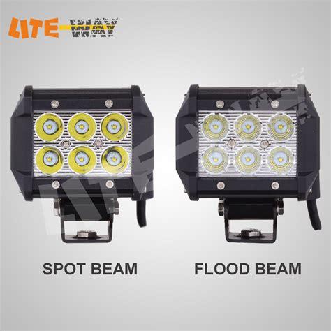 cree led bar light free shipping 18w cree led light bar led work light