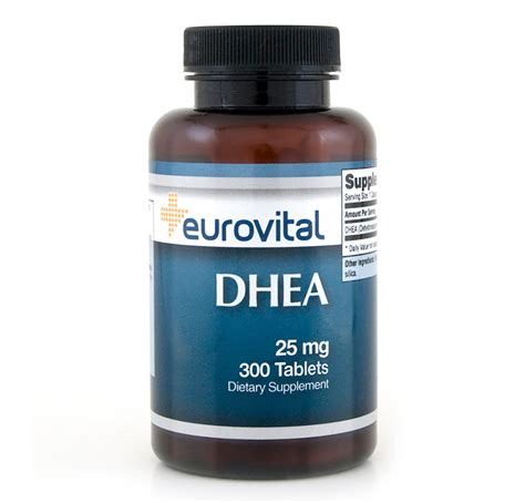 Vitamin Nutrisi Dhea 25mg 100 Capsul dhea 25mg 300 tablets other vitamins supplements