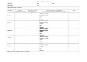 lesson plan template ks1 blank weekly and maths planning templates by molly