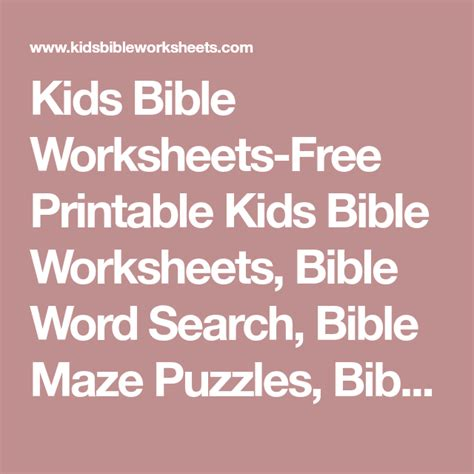 Free Printable Bible For Youth