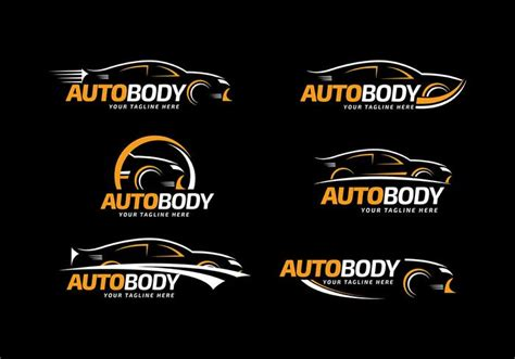 Auto Logo Design Free by Auto Body Logo Template Free Vector Download Free Vector