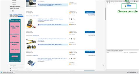 ebay history is there a method to download my purchase history