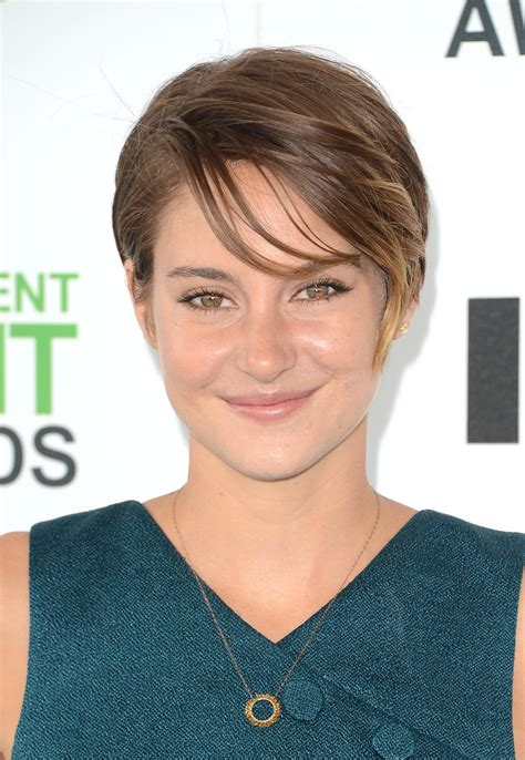 Shailene Woodley   Stars Show Off Brunch Beauty Looks at