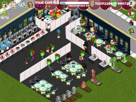 zombie cafe layout tips the best zombie caf 233 ever youtube