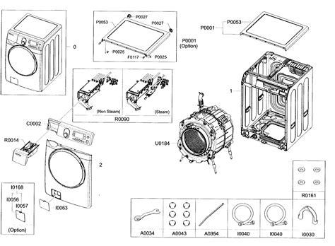 samsung front load washer parts diagram samsung washing machine wiring diagram get free image