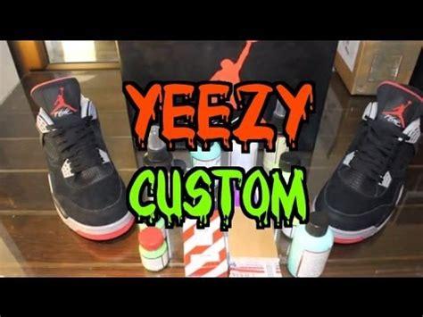 angelus paint yeezy quot yeezy 2 quot 4 custom angelus paints