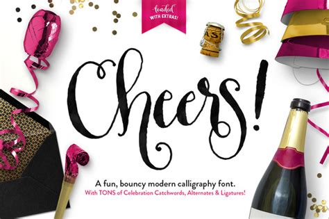 Wedding Fonts And Graphics by Cheers Font Graphics Pack Script Fonts On Creative Market
