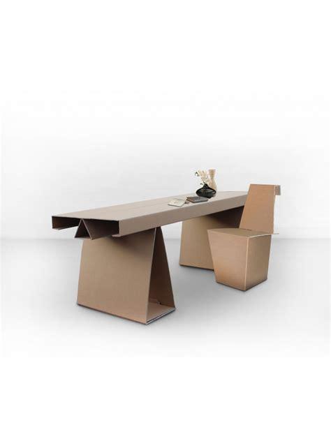 Cardboard Coffee Table Ecodesing Desk In Cardboard Cary