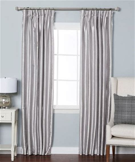 Blackout Curtains For Master Bedroom Best Home Fashion Gray Dupioni Pinch Pleat Blackout