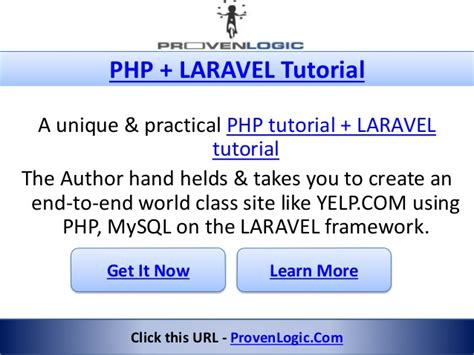 tutorial laravel mysql yelp clone script programming tutorial