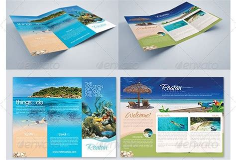 sle travel brochure template tri fold best travel brochure zox design print