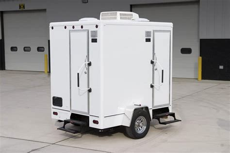 bathroom trailers mobile restroom trailer available for rent
