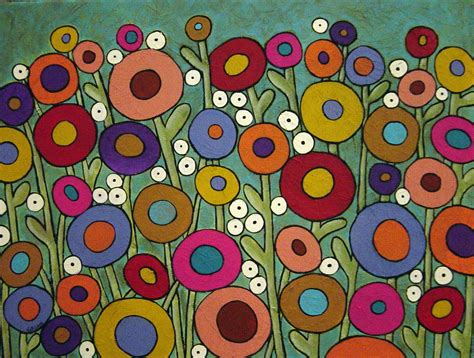 abstract garden karla gerard abstract garden painting by karla g