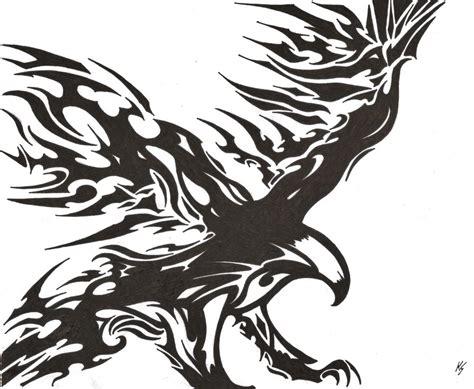 eagle tattoo tribal art tribal eagle by kstewart95 on deviantart