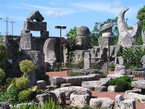 1951 Rock Garden Coral Castle Pictures