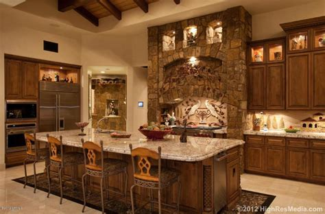 Tuscan Inspired Home Decor by 10 Million Tuscan Style Mountaintop Mansion In Scottsdale