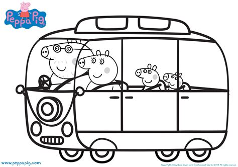 peppa pig coloring pages a4 coloring page peppa pig happiness family peppa pig