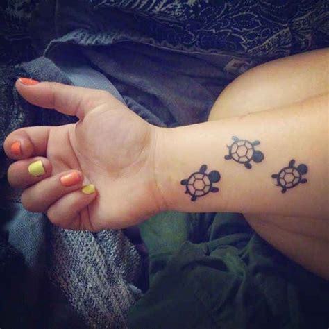 small turtle tattoo ideas if i had babies i d get a new one for each child