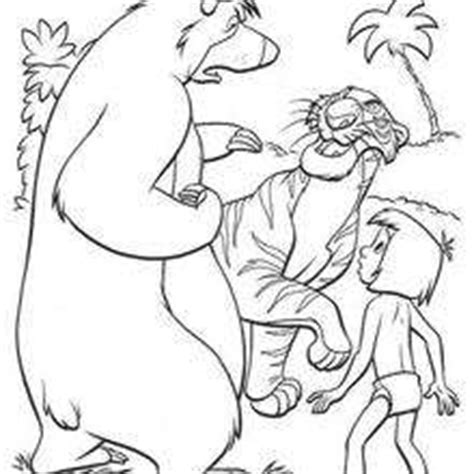 jungle cubs coloring pages the jungle book original movie printables 20 free disney