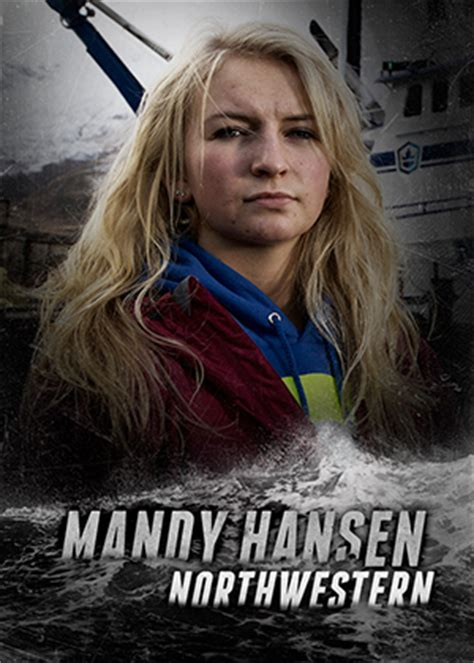 mandy hansen on the deadliest catch fv northwestern mandy hansen f v northwestern