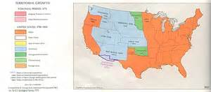 territorial expansion in eastern united states 1860