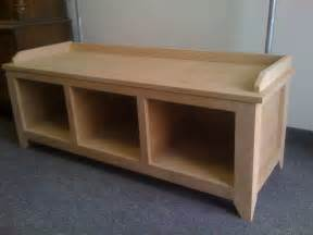 Ottoman Bench With Storage Bench With Shelves Pollera Org