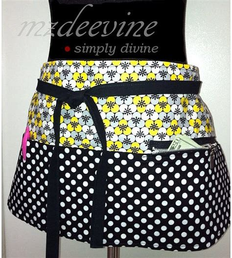 pattern for vendor apron vendor apron black and yellow vendor apron sassy
