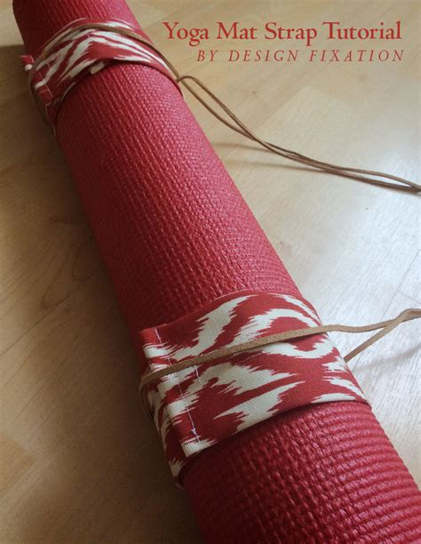 pattern for yoga mat strap sewing tutorial diy yoga mat carrying straps design