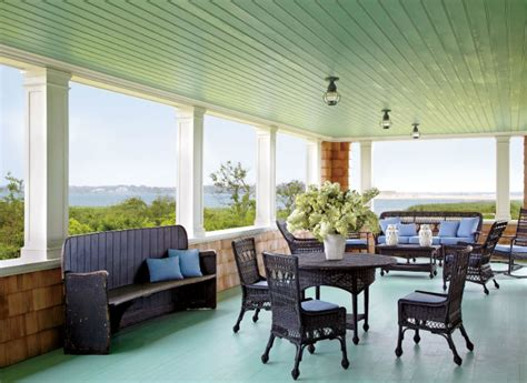 Green Ceilings by Colored Ceilings That Add Contrast Your Home Design