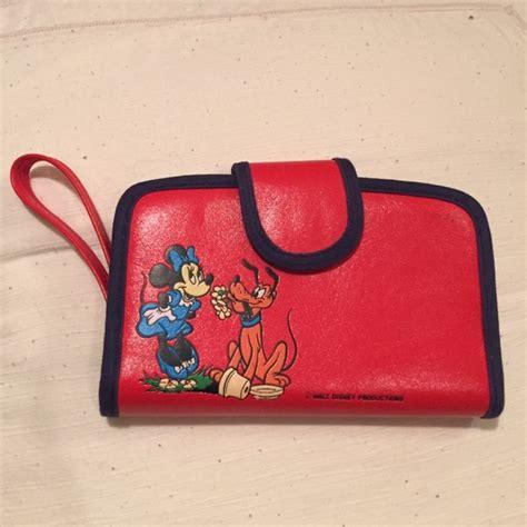 minnie mouse coach wristlet 97 disney handbags vintage disney minnie mouse