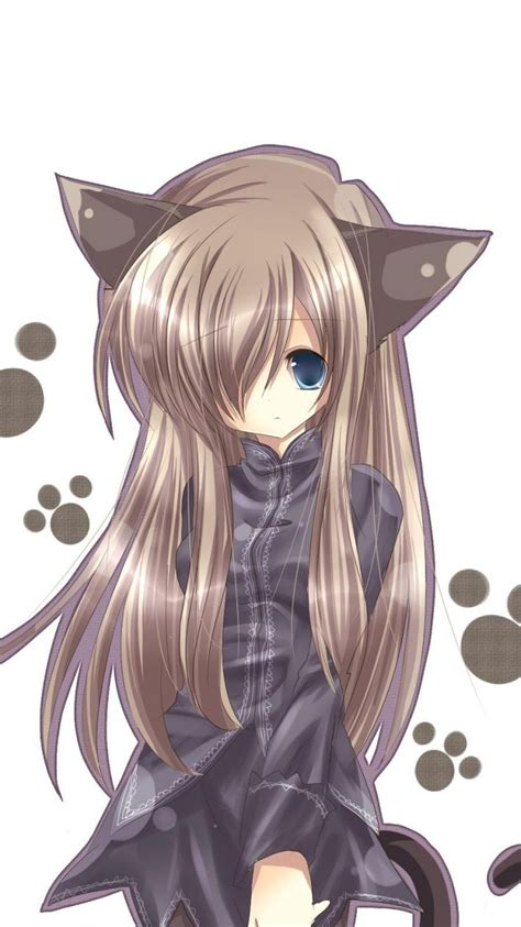 anime cat girl wallpapers group