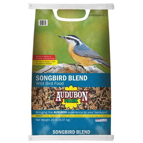 audubon park hummingbird food rating audubon park 20 lb songbird blend bird food 12506 the home depot