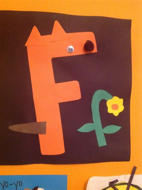 letters for craft projects letter f craft letter f crafts activities