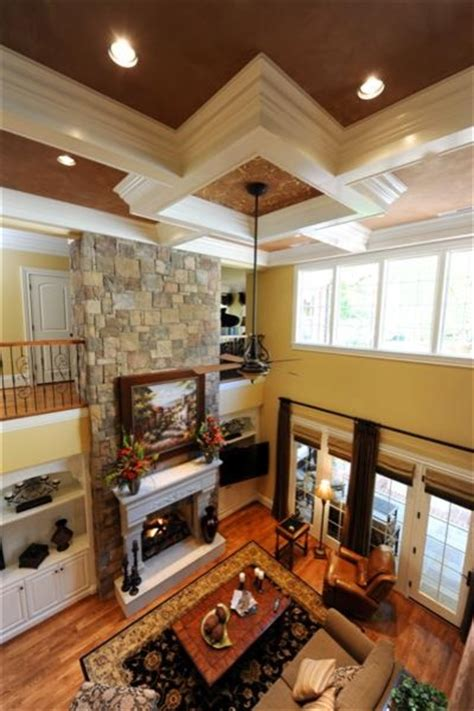 two story family room traditional living room other by houck residential designers