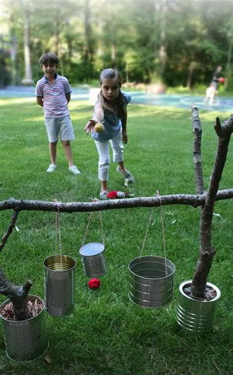backyard games awesome outdoor diy projects for kids